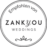 Zank You Weddings Logo